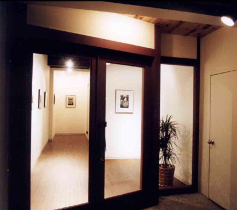 画廊アルフォーの店舗デザイン設計の写真